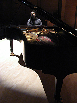 Joel LaRue Smith at piano